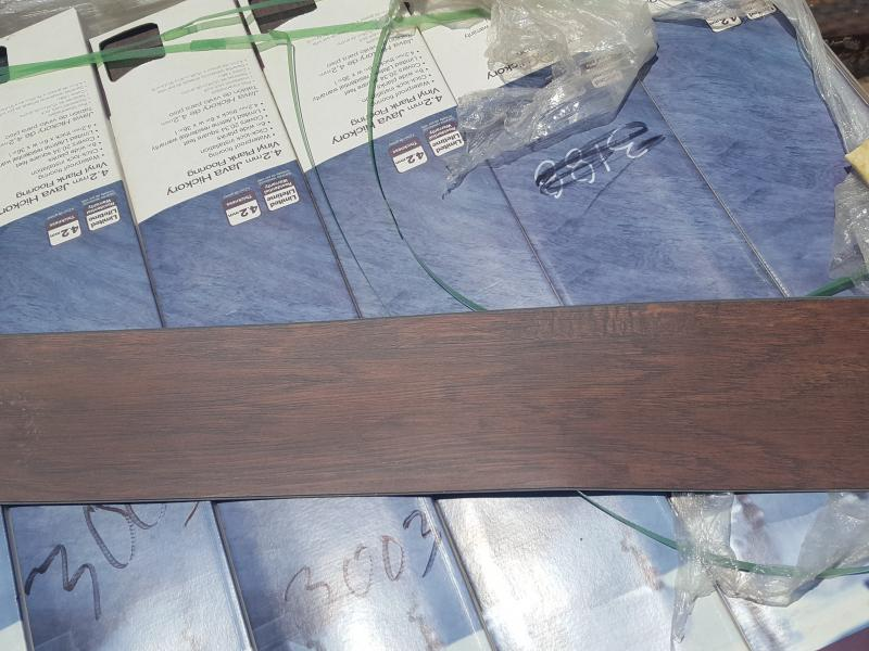 APPROX BOXES OF MM JAVA HICKORY VINYL PLANK FLOORING X - Buy vinyl plank flooring online